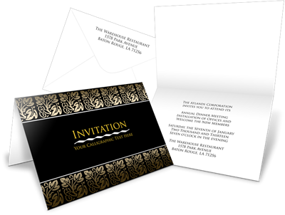 Foldover Cards and Invites